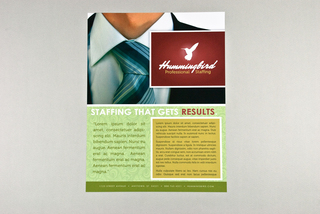 free flyer design template