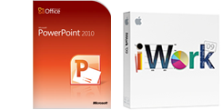 Powerpoint iWork boxes